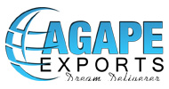 AGAPE exports dream delivers logo