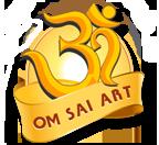OM Sai art logo